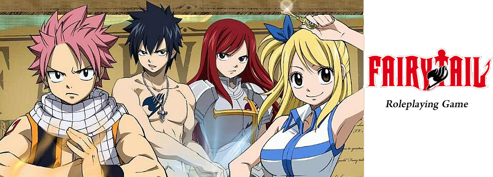 Fairy Tail RPG Rules and Support